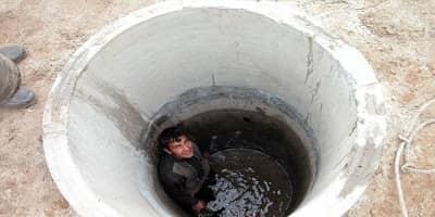 کول گذاری چاه فاضلاب تهران