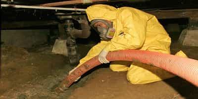 گاز ناشی از تخلیه چاه تهران